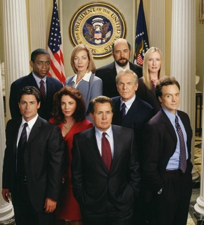 "Ensemble von ""West Wing"""
