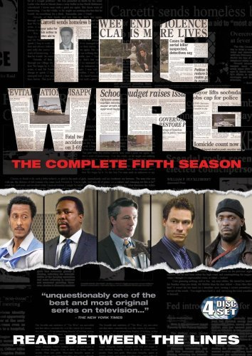 "Plakat der Serie "" The Wire"""