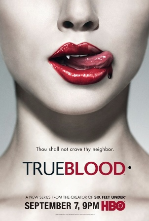 "Plakat der Serie ""True Blood"""